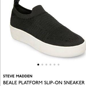 Steve Madden Beale Platform Slip on Sneaker